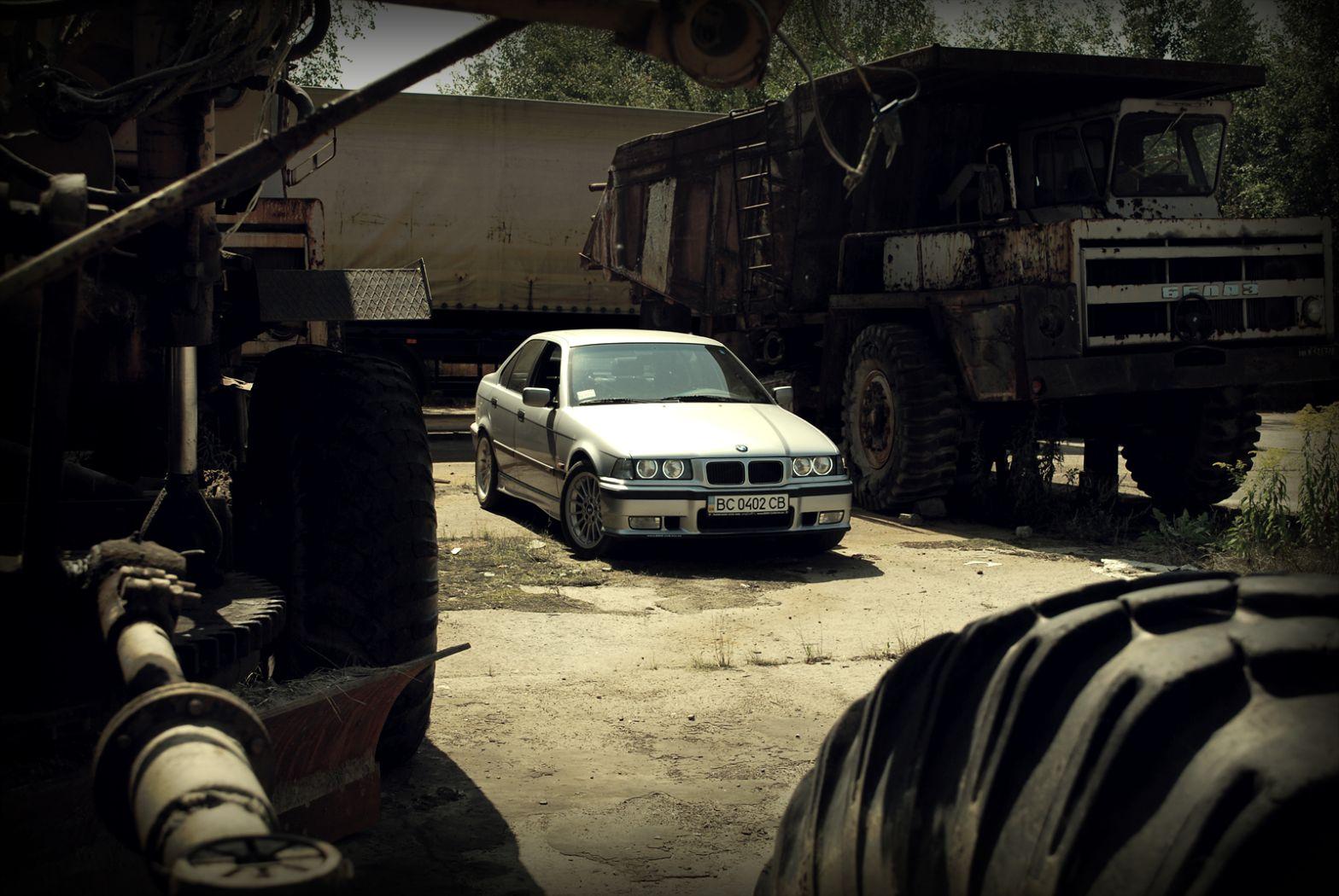 Born in Germany grown in Ukraine - 3er BMW - E36
