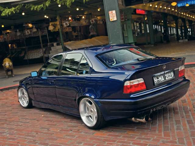 1994 BMW E36 325Is Close Rear